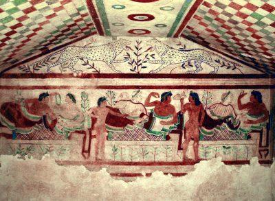 Изображение от етруска гробница