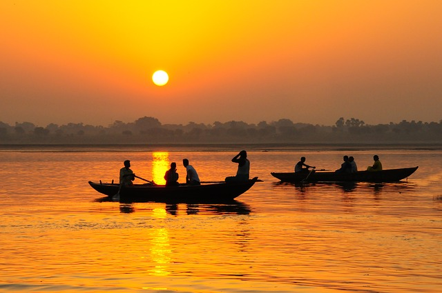 Край река Ганг
