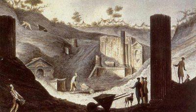 Храмът на Изида в Помпей