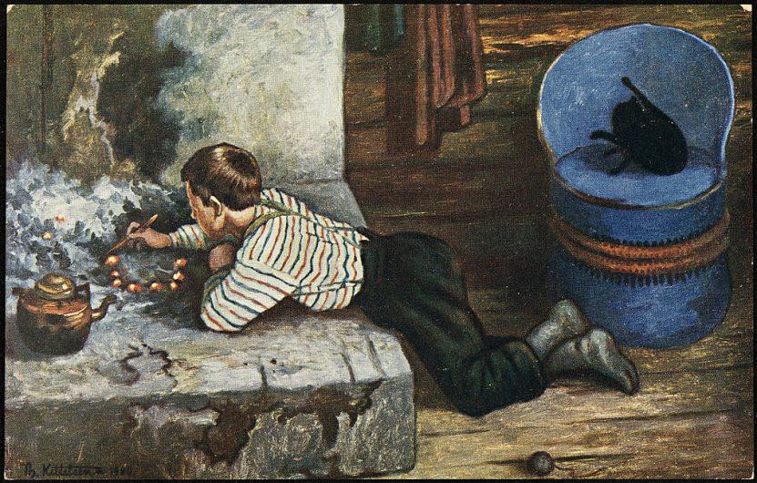 Снимката е на норвежкият художник Теодор Кителсен